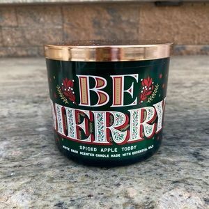 Be Merry Candle Spiced Apple 🍎 Toddy